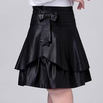 2013秋冬短裙新款修身半身裙PU裙百搭A字裙打底裙子韩版摆裙 价格:88.00