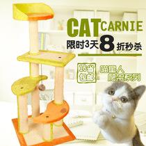 16省包邮 猫咪玩具猫跳台猫爬架 猫树猫抓板猫架子 宠物玩具 猫床 价格:158.40
