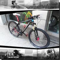 正品Titantec X9 DIY山地车 神叉E1油刹久裕花鼓SHIMANO变速单车 价格:5188.00