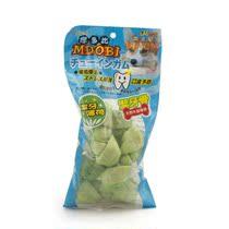 摩多比MDOBI 洁牙薄荷味牛皮节骨/咬骨 宠物狗狗零食 4寸5支装 价格:12.80