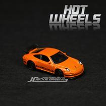 [专柜正品盒装]美泰风火轮 保时捷 911 GT3 RS 超跑 合金车模玩具 价格:15.00