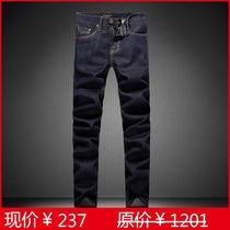 2013春夏新款 专柜正品巴宝莉牛仔裤 Burberry高档纯棉直筒牛仔裤 价格:237.00