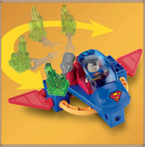 费雪 TRIO 拼插积木 DC Super Friends Superman and Space Sled 价格:128.00