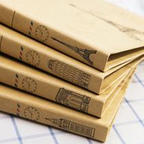 办公用品A4文档 韩国牛皮纸质 整理金属双夹 活页资料夹子文件夹 价格:7.90