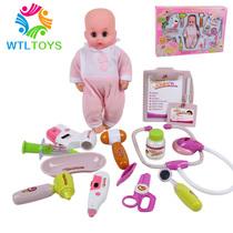 儿童医生玩具套装-豪华版 带公仔 宝宝过家家 仿真医药箱打针工具 价格:48.00