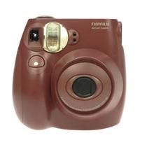 正品 富士checky一次成像相机/instax/mini7s/巧克力色 价格:520.00