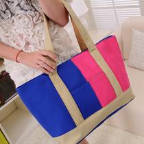 帆布包包新品女包韩版2013新款单肩包斜挎包复古潮时尚女式包 价格:38.80