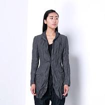 【0828新品】JNBY江南布衣通勤优雅西装改良长袖绞皱外套5B22264 价格:477.00