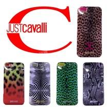 意大利JustCavalli正品尾单蛇纹豹纹iphone5手机壳 苹果5外壳 价格:35.00