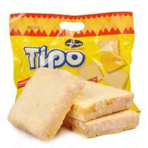 零利润进口零食品越南TIPO白巧克力面包干300g正宗饼干片假一赔十 价格:13.99