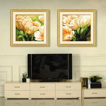 精准印花3D十字绣新款客厅系列爱的绽放大幅最新款卧室黄色郁金香 价格:59.00