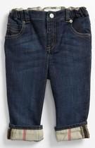 美国代购正品Burberry巴宝莉夏款男童装直筒牛仔裤松紧腰 价格:840.00