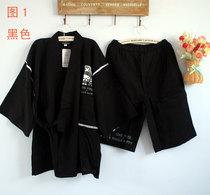 特价外贸日本原单nepec航海王纯棉棉布男士和服甚平服家居服套装 价格:52.00