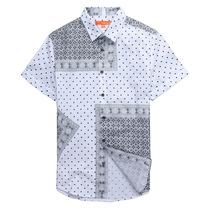 官方授权Mark Fairwhale/马克华菲 7122311001短袖衬衫好评返现金 价格:177.75