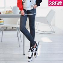 38.5度 秋装新款韩版休闲女三分短裤假两件短裤裙打底九分裤 A02 价格:32.00