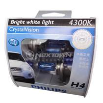 飞利浦银战士4300K白黄光车灯H4CV 腾翼C30/利亚纳/奥拓/羚羊大灯 价格:130.00