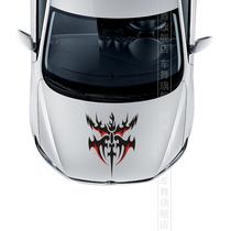 车舞火焰引擎盖车头运动贴纸2013 12新福克斯嘉年华赛爱唯欧mg3 价格:9.90