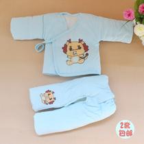 2套包邮 新生儿棉衣套装初生婴儿加厚棉袄宝宝纯棉棉衣两/3三件套 价格:23.00