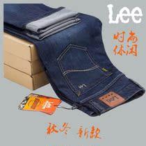 2013秋季新款潮男装lee男士牛仔裤韩版直筒李牌牛仔裤男款长裤 价格:126.00