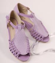 韩国编织田园鱼嘴低跟女凉鞋甜美舒适T带低跟鞋春夏女鞋休闲凉鞋 价格:66.00