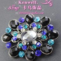 欧时力2013秋款新品彩色钻石水晶时尚胸针1133579200 现货 价格:39.00