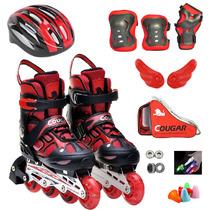 正品 美洲狮水立方 儿童溜冰鞋前轮闪光 可调节旱冰鞋 轮滑鞋包邮 价格:139.00