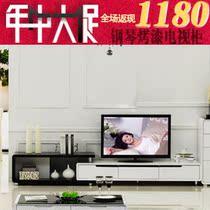 电视柜 电视柜伸缩 背景墙组合 两边互换 白色亮光钢琴烤漆 TV881 价格:760.00