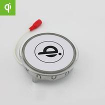 Qi标准无线充电咖啡桌无线充电器手机通用无线充电发射站数码配件 价格:180.00