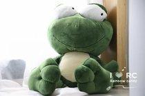 青蛙王子绿豆蛙公仔大号大眼蛙毛绒玩具布娃娃 送女生礼物公仔 价格:48.00