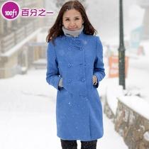 【新】欧美轮廓御寒厚毛呢时尚大衣F4317 价格:399.00