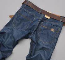 正品 巴宝莉2013新款男裤子 Burberry牛仔裤 男士时尚修身直筒 价格:328.00