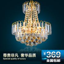 欧式楼梯灯现代时尚客厅饭厅过道餐厅水晶灯酒店大厅吊灯大吊灯具 价格:699.00