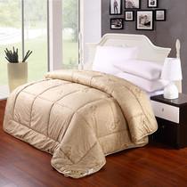 被芯被子 加厚冬被单人双人棉被芯顶级贡缎驼毛被 床上用品 包邮 价格:179.00