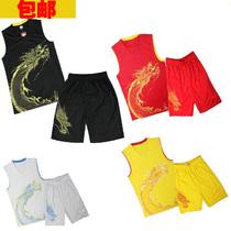 正品飞龙在天篮球服男成人亲子款儿童小孩篮球训练服套装可印字号 价格:45.00