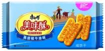 【天猫超市】康师傅美味酥黑胡椒牛排味(袋装85G) 价格:2.76