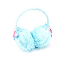蝴蝶结大毛绒上戴式耳罩 女士保暖毛绒耳罩耳包耳帽 保暖耳套83g 价格:5.50