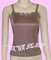 精品女装:针织真丝蕾丝吊带衫/打底吊带/吊带背心(浅咖啡色) 价格:68.00
