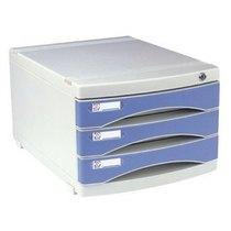 勤必发 2803 三层文件柜 带锁文件柜 塑料文件柜 资料收纳柜 特价 价格:46.00