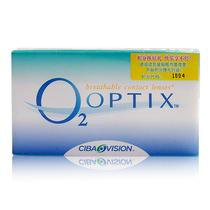 视康舒视氧o2月抛6片 隐形眼镜 买就送爱尔康傲滴护理液60ML 包邮 价格:129.90