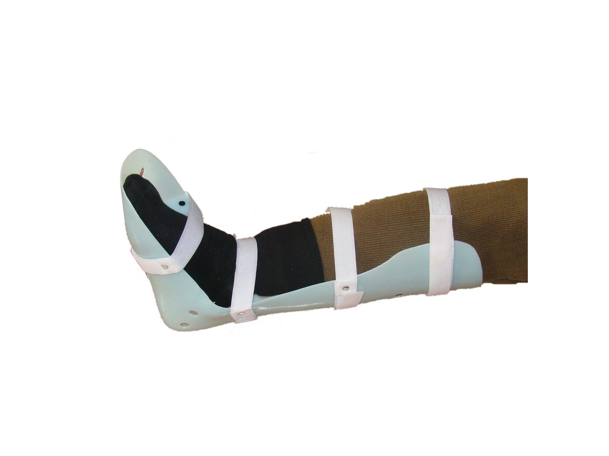 胫腓骨超踝支具 PVC塑料支具 脚踝支具 腿部固定 骨折 矫正 价格:28.00