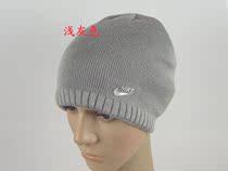 耐克正品圆顶运动毛线帽冬季帽子 外帽冬天 户外帽冬针织帽男黑色 价格:42.00