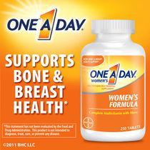 美国原装拜耳Bayer One A Day女性专用复合维生素矿物质250片直邮 价格:198.00