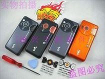 索爱W610c外壳 Sony Ericsson W610手机壳  送原装键盘+工具 价格:25.00
