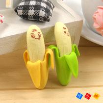 卡通 创意 香蕉/特价学生文具批发可爱卡通香蕉造型橡皮擦可剥皮创意儿童奖品