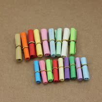 许愿纸超炫彩色信纸 纸条 纸卷韩国爱情药丸漂流瓶纸卷许愿瓶情书 价格:0.10