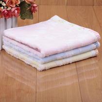 棉田专柜正品 亲亲宝贝高柔提花纯棉吸水女士儿童毛巾方巾 F2007 价格:25.00