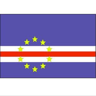 2号佛得角国旗 定做各种仿古旗公司旗厂旗导游旗各国国旗 价格:70.00