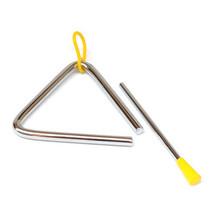 奥尔夫教具乐器 儿童打击乐器亲子乐器 三角铁5寸 价格:6.80