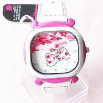 【淘饰居】正品香港caite(彩特) 可爱粉色淑女手表 学生表 价格:38.00