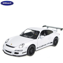 威利 welly正品 1:24 合金 汽车模型 保时捷911 gt3 跑车模型 价格:74.00